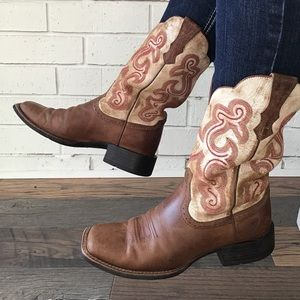 Ariat | Quickdraw Western Boot Sandstorm Cowgirl